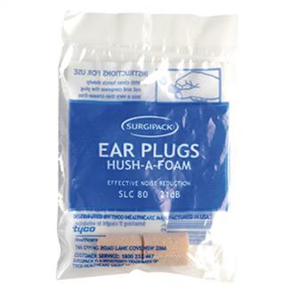 Surgipack<sup>®</sup> Hush-A-Foam Ear Plug 1 Pair Dispensor