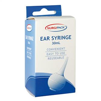 Surgipack<sup>®</sup> Rubber Ear Syringe 30mL
