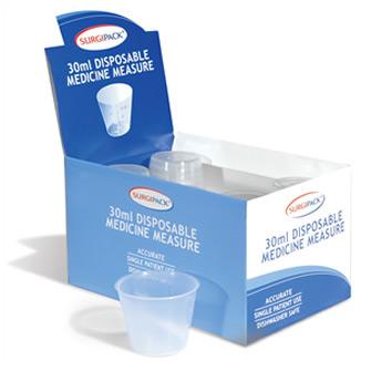 Surgipack<sup>®</sup> 30mL Disposible Medicine Measure